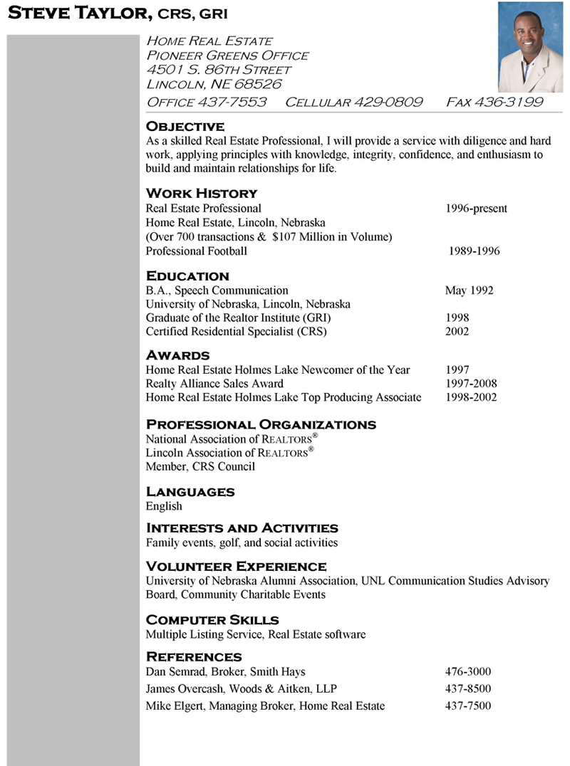 real estate manager resume property manager resume example sample pin sample resume oil field worker - Realtor Resume